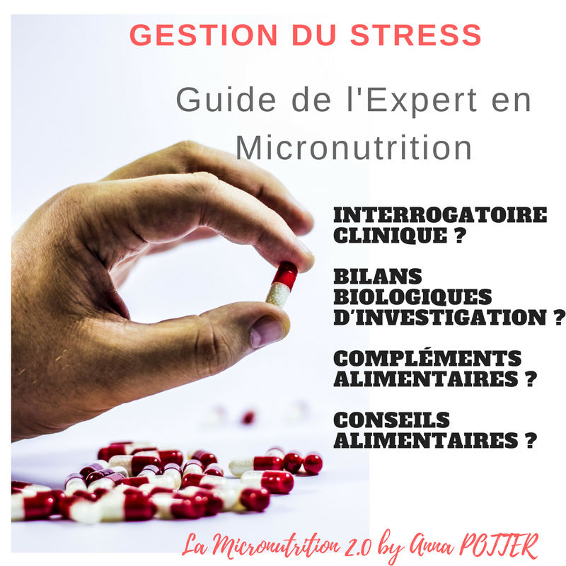 guide du micronutritionniste stress